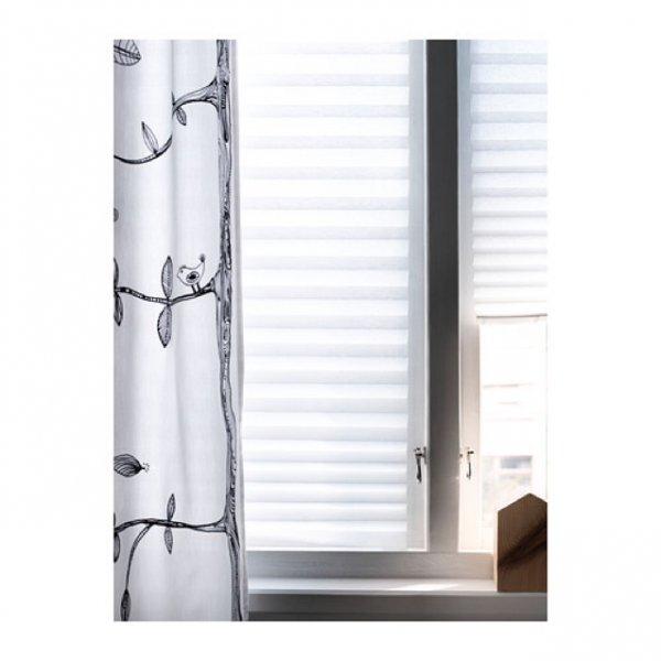 IKEA SCHOTTIS Faltjalousie 90x190 cm, weiß