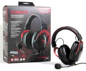 Kingston HyperX Cloud II Gaming Headset für PC/PS4/Mac rot, 84,99€  Amazon Blitzangebot