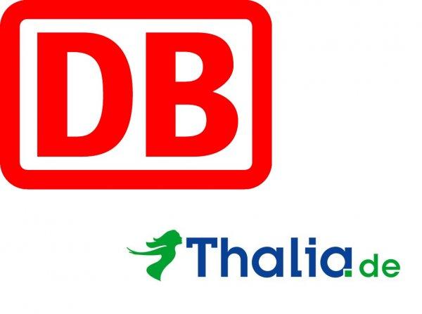 Probe BahnCard 25 oder 50 bestellen und 25% Rabatt bei Thalia erhalten