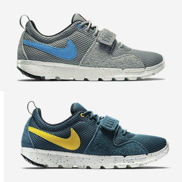 [nike.de] Nike Trainerendor - grau & blau für 48,59€