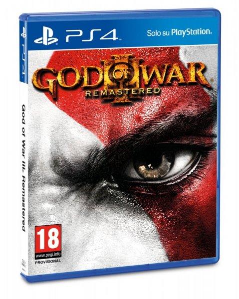[HDGAMESHOP.at] God of War 3 Remastered für PlayStation 4 für 23,49€ / oder + Watch Dogs BaseCap + Maske für insgesamt 24,99€
