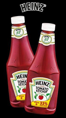 [Norma] Heinz Tomato Ketchup 1170ml (20% billiger + 33% mehr Inhalt)