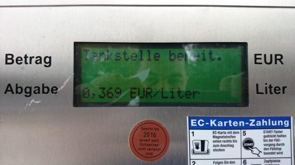 0,369€ Günstig LPG Autogas tanken