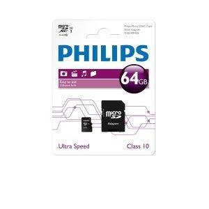 [7DayShop] Philips microSDXC 64GB Class 10 & [Mymemory] Lexar microSDXC 64GB Class 10 - beide für je 17,55€