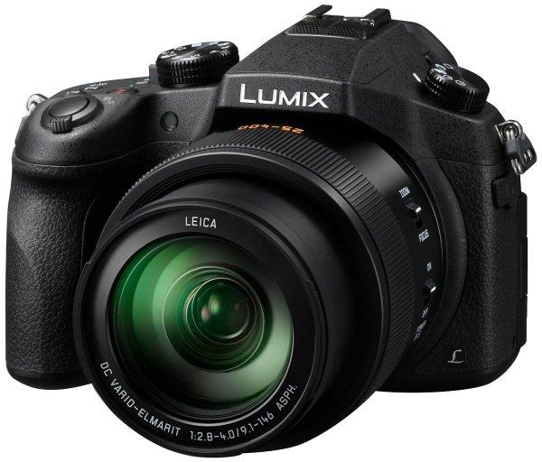 [ZackZack] Panasonic Lumix DMC-FZ1000EG Superzoom Digitalkamera (20 Megapixel, 16-fach opt. Zoom, 1 MOS-Sensor, 7,5 cm (3 Zoll) LCD-Display, 4K/UHD-Aufnahme, optische Bildstabilisierung, WiFi, NFC) schwarz
