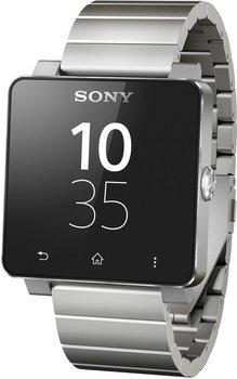 Sony SmartWatch 2 SW2 mit Metall-Armband silber @ Amazon Warehousedeals