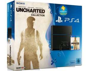 [Saturn Outlet/eBay] PlayStation4 500GB + Uncharted:The Nathan Drake Collection + 90Tage PSPlus