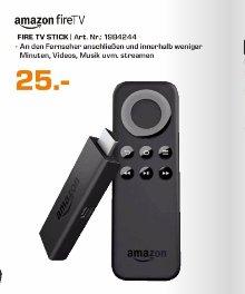 (Saturn Köln)  Amazon Fire TV Stick für 25€