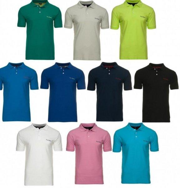 Ebay PIERRE CARDIN Herren Polo-Shirts Polohemden in 11 Farben aus 100 % Baumwolle