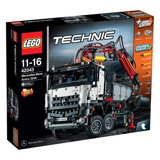 [Real-20% auf Lego] Lego Technic - Mercedes-Benz Arocs 3245 (42043)