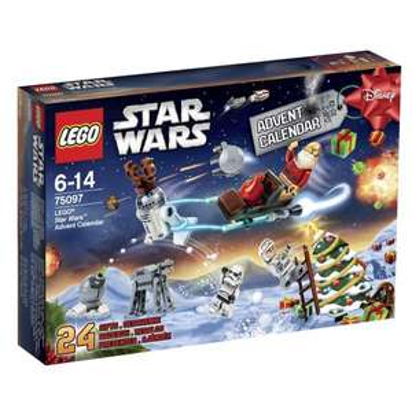LEGO Star Wars Adventskalender für 23,79.- bei 3 Stück (mit qipu 21,79.-) @Galeria Kaufhof