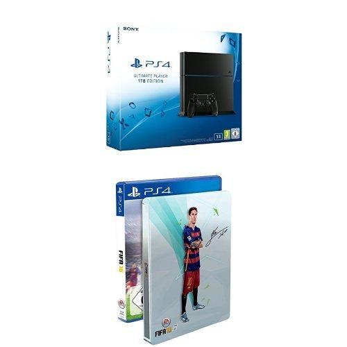 Playstation 4 1TB + FIFA Steelbook Edition wieder verfügbar