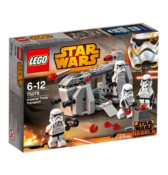 Star Wars Imperial Troop Transport 75078 bei galeria-kaufhof.de (bei 5 Stück)