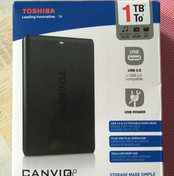 [Media Markt in Bochum] Externe Festplatte Toshiba