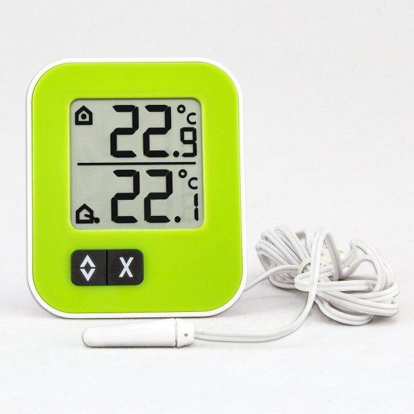 [Amazon.de-Prime] TFA Dostmann digitales Innen-Aussen-Thermometer Moxx  in Gelb oder Weiss