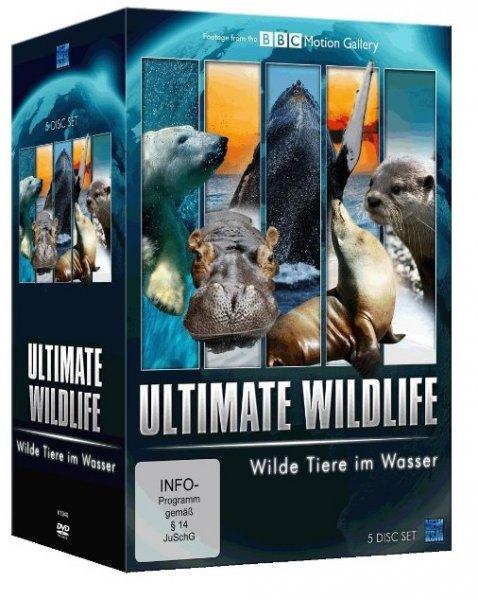 [Amazon Prime] Ultimate Wildlife Edition 2 - Wildtiere zu Wasser [5 DVDs]