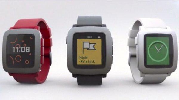 [Amazon.co.uk] Pebble Time (iOS & Android) in 3 verschiedenen Farben für 192,73€
