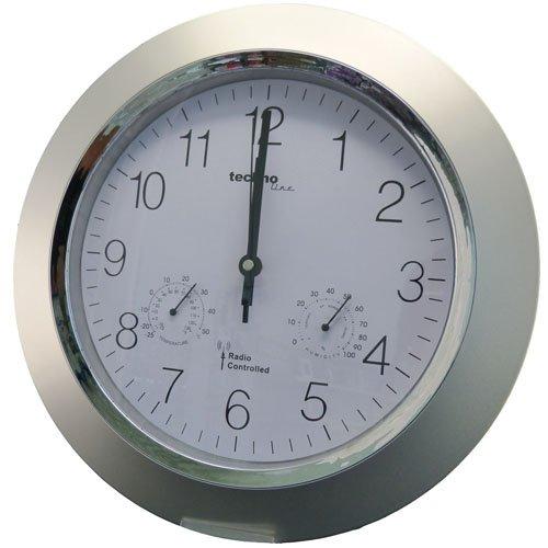[Edeka Südwest]  Analoge Funk-Wanduhr WT 8940 mit Thermometer und Hygrometer von TechnoLine für 9,99 €