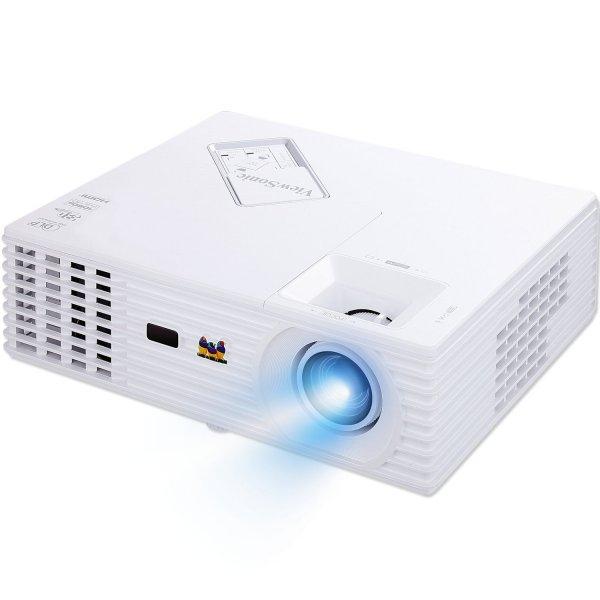 [ZackZack] ViewSonic PJD7822HDL DLP-Projektor (Full HD 1920 x 1080, 3D-fähig direkt über HDMI 1.4, 144Hz 3D, VGA, Kontrast 15.000:1, 3200 ANSI Lumen) weiß