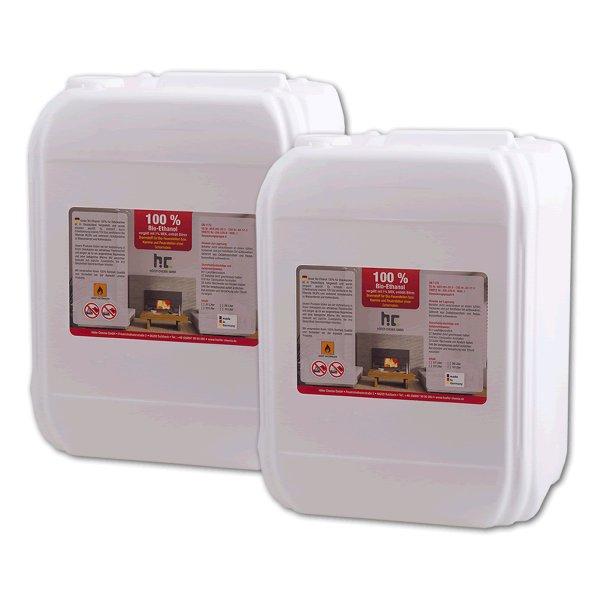 20 Liter Ethanol (100 %) für Indoor-Kamine [1,59 €/ l]