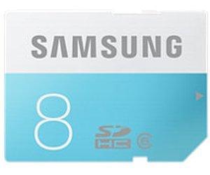 Samsung 8 GB SD Speicherkarte für 3€, 57% unter idealo @MediaMarkt Online