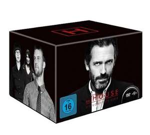 [Amazon] Dr. House -  Die komplette Serie, Season 1-8 (46 Discs) Idealo: ~59€ || Monk: 39,97 €