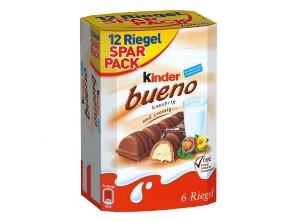 Kinder Bueno 12er Pack für 2,88 bei LIDL [Bundesweit] ab 15.10 (Donnerstag)