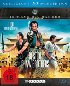 [Blu-ray] Best of Shaw Brothers (10 Filme) @ Media-Dealer