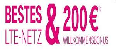 200 Euro Wechsel/Willkommensbonus bei Telekom Mobilfunkvertrag