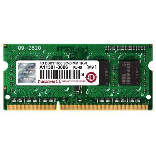 SPEICHERKARTENLESER statt RAM (siehe Kommentare) [Amazon MP: ATELCO] Transcend 4GB SO DIMM DDR3 PC3-12800 CL11 Notebook RAM für 13,39€