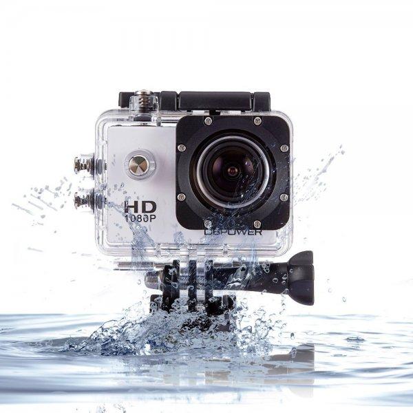 [AMAZON] 25% Rabatt auf DBPOWER 1080P HD 12MP Wasserdichte Action Kamera