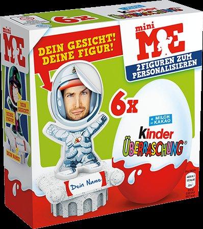 (Penny) Kinder Überraschung MiniMe Sonderedition 6er Pack  2,66€  statt 3,99€