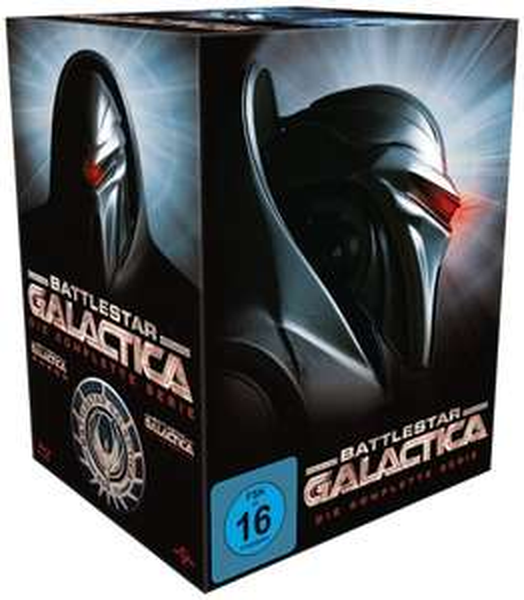 Battlestar Galactica - Season 1-4/Die komplette Serie [Blu-ray] für 31,97 € > [amazon.de]