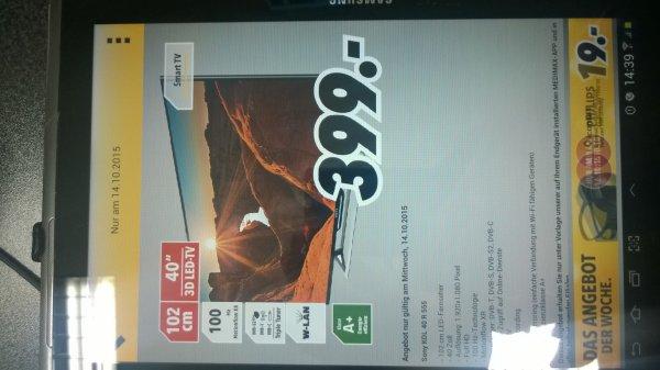 LED-Fernseher Sony KDL40R555