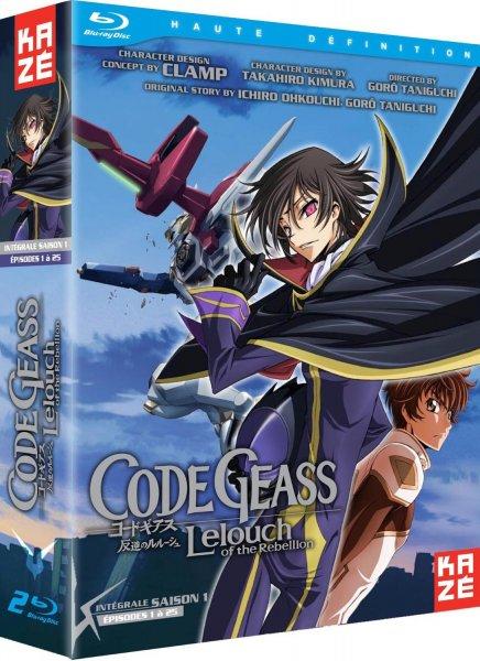 (Amazon FR) Code Geass: Lelouch of the Rebellion - Bluray - Staffel 1 und 2 für 28€/30€ Inkl. Versand