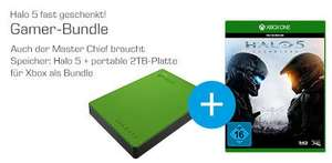 [Saturn] Seagate Game Drive for Xbox STEA2000403-2TB - Festplatte (STEA2000403) +Halo 5: Guardians - Xbox One
