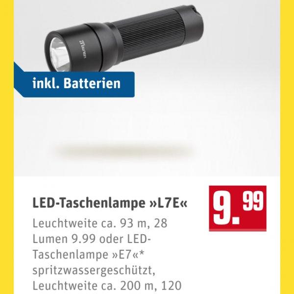 REWE (Böbingen/Rems) LED Lenser L7E Taschenlampe (Lokal?)