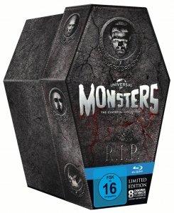 [Amazon] Universal Monsters Collection - Sarg Edition (8 Filme auf 8 Blu-rays) für 27,97€ [wird im Bestellvorgang reduziert]