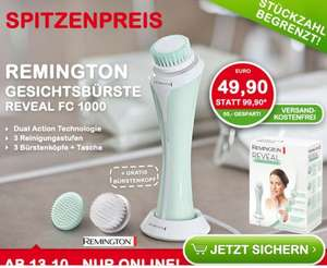 (InterSpar online) Remington REVEAL Gesichtsbürste FC1000