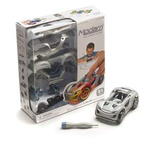 [Amazon.de-Prime] Modarri 1170 - DIY1 Car Single bemalbar, Auto- und Verkehrsmodelle, in 4 modelle
