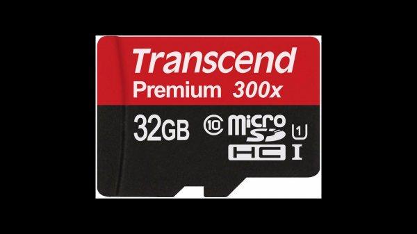 Transcend Speicherkarte 32GB micro SDHC10 UHS-I (max. 45MB/s) mit Adapter, OTTO.de - VERSANDKOSTENFREI für Neukunden