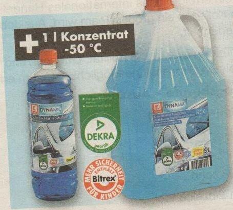[LOKAL] Kaufland Geldern 5l-Scheibenklar Frostschutz 4,99€ + 1l Konzentrat