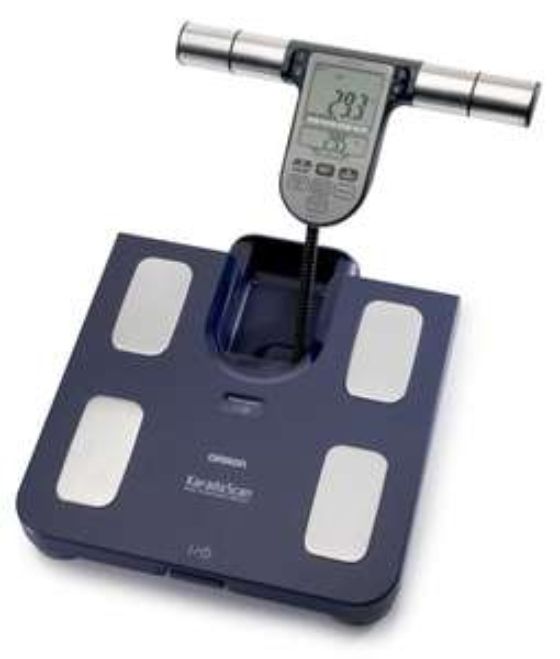 Amazon Tagesangebot: OMRON BF 511 Körperanalysegerät, blau für 56,85