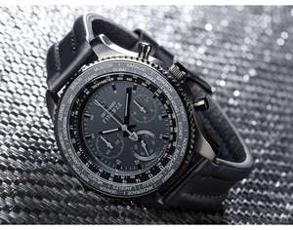 DETOMASO FIRENZE XXL Black Edition, Chronograph, Kratzfestes Mineral-Kristallglas, Stoppuhrfunktion  @allyouneed.com 99€