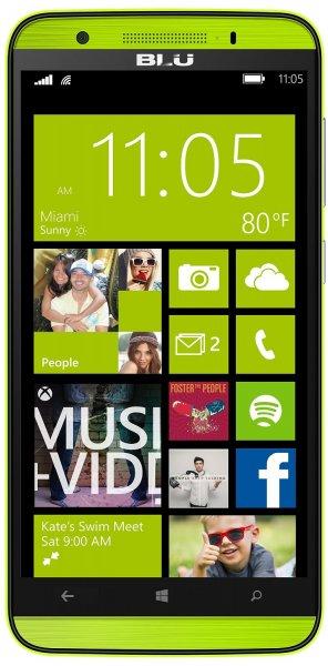 Blu Win HD Windows Phone LTE + Dual-SIM (5'' HD IPS, Snapdragon 410 Quadcore, 1GB RAM, 8GB intern, microSD, 2500 mAh, Update auf Windows ) für 104,70 € > [amazon.fr] > Blitzangebot