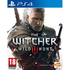 The Witcher 3: Wild Hunt (PS4) @Amazon.fr
