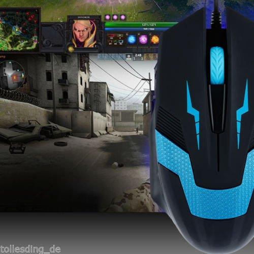 1€ Gaming Maus 1600DPI