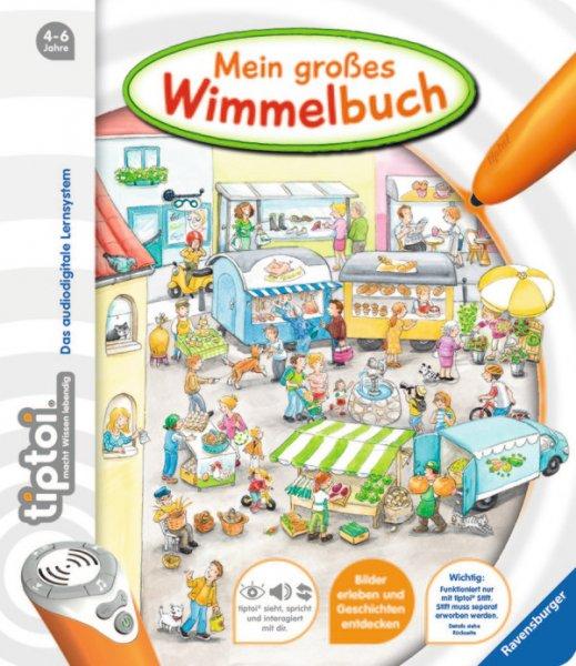 """[McDonalds] Tiptoi Buch """"Mein großes Wimmelbuch"""" im Happy Meal ab den 30.10.2015"""