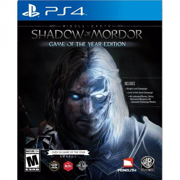 Mittelerde: Mordors Schatten - Game of the Year Edition (PS4) @Coolshop.de