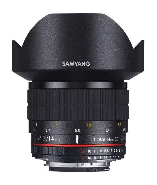 Samyang 14mm F2.8 Objektiv für Fuji X für 357,70 € @Amazon.es